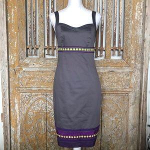 BODEN GRAY SLEEVELESS DRESS 4 R